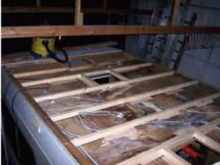 r paration toit pilote r780s par guy. Black Bedroom Furniture Sets. Home Design Ideas