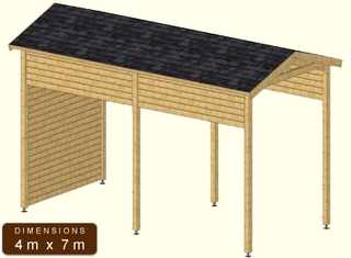 abri pour campingcar par campingcar bricoloisirs. Black Bedroom Furniture Sets. Home Design Ideas