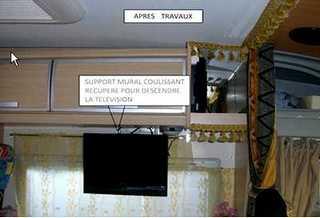 Astuces diverses 1 par campingcar bricoloisirs - Comment fabriquer un support mural tv ...