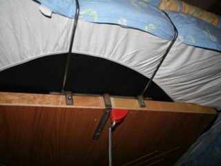 escamotable lit pliant vertical encastre meuble. Black Bedroom Furniture Sets. Home Design Ideas
