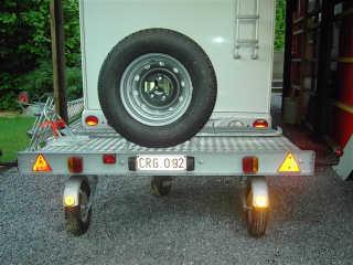 remorque camping car roue folle pas cher 123 remorque. Black Bedroom Furniture Sets. Home Design Ideas
