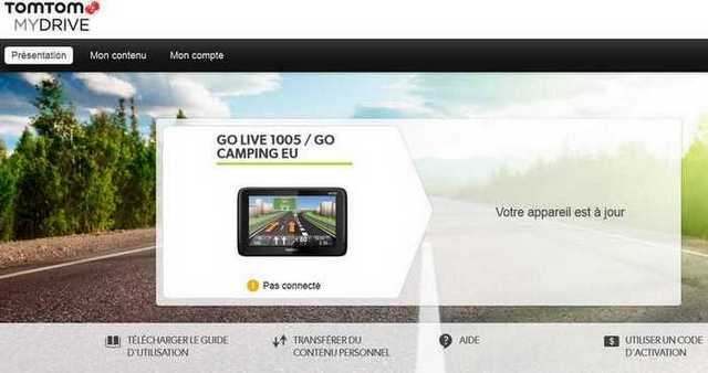 mydrive connect pour tomtom