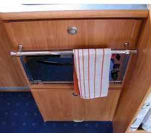 Les astuces de jean michel 2 par campingcar bricoloisirs - Rangement torchons cuisine ...