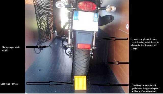Rail porte moto maison par christian sur mageo 118 - Porte moto 1 rail erde pm 310 ...