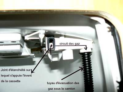 fabriquer et installer une turbine d 39 vacuation des gaz de cassette wc. Black Bedroom Furniture Sets. Home Design Ideas