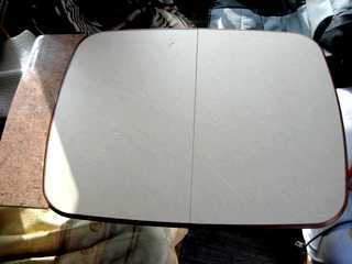Les astuces de ren par campingcar bricoloisirs for Plateau table interieur camping car